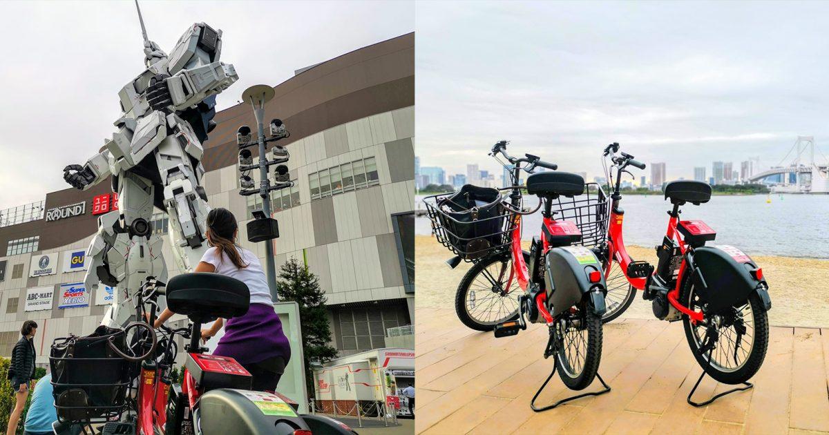 Daytime Tour : E-bike Cycling Tour Odaiba Water front